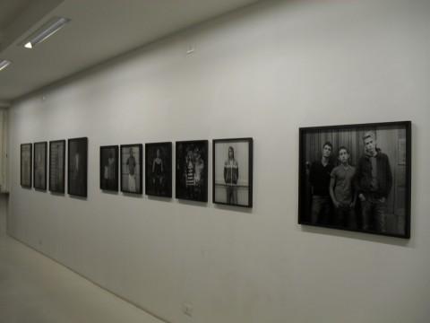 Ingar Krauss - San Salvario - veduta della mostra presso Velan, Torino 2013