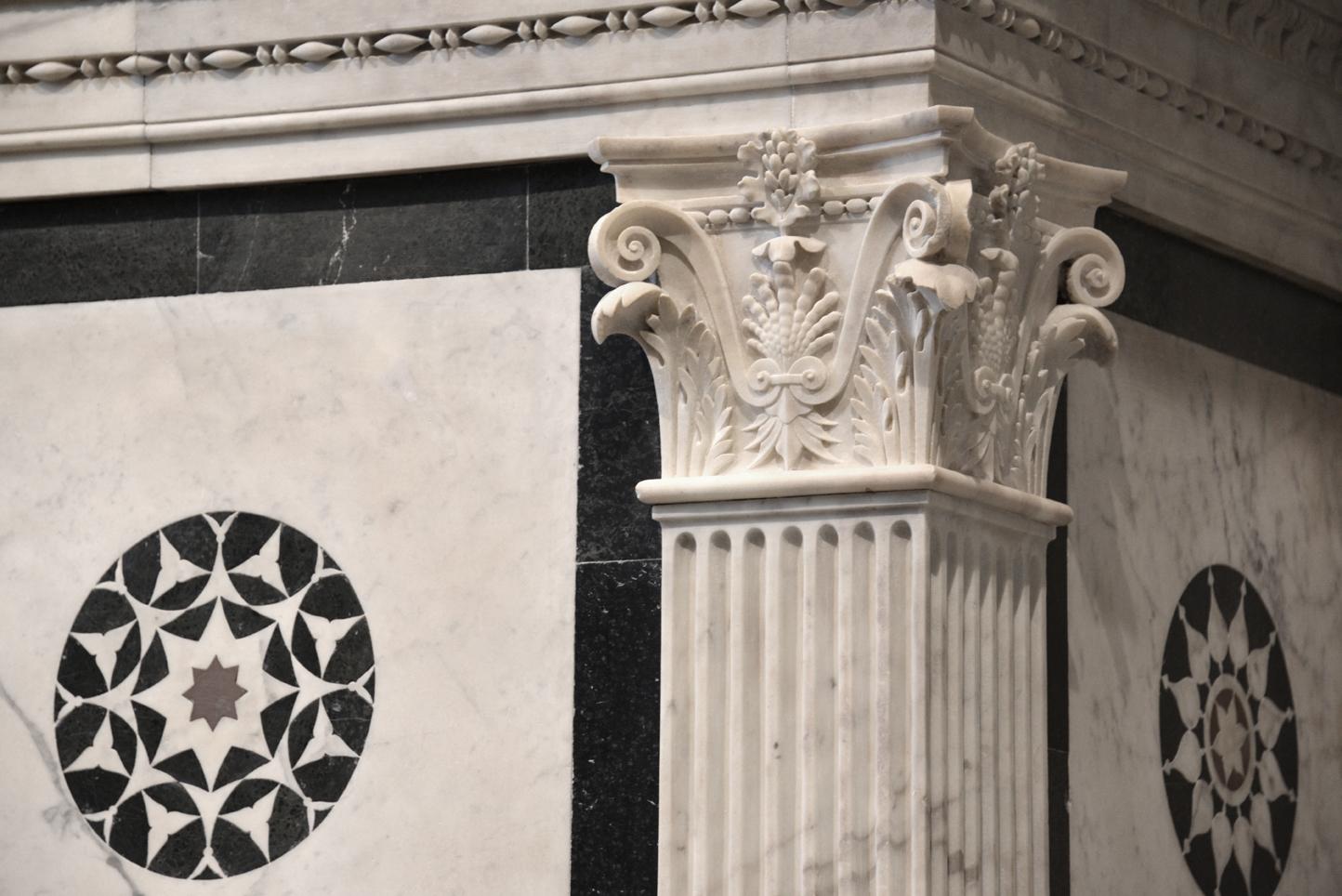 Particolare del Tempietto del S Sepolcro. Cappella Rucellai, foto Valentina Grandini