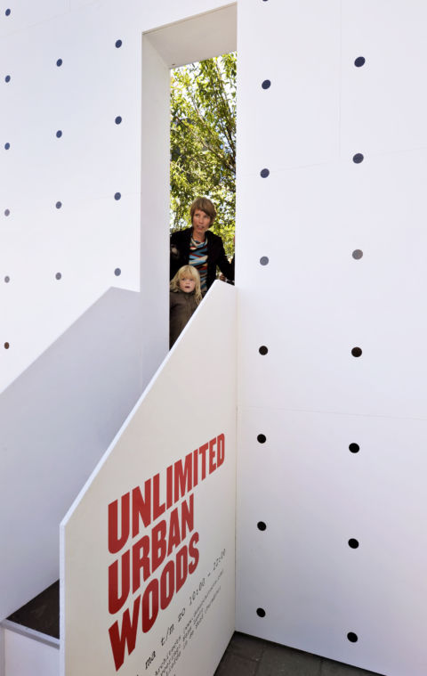DUS architects - Unlimited Urban Wood - photo Pieter Kers