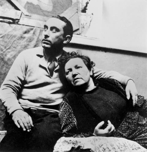 Roma, 1935: Antonietta e Mario Mafai nello studio di piazza Indipendenza