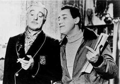 Vittorio De Sica e Alberto Sordi in Il conte Max