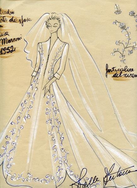 d9137f107482 Abito Da Sposa Audrey Hepburn Sorelle Fontana