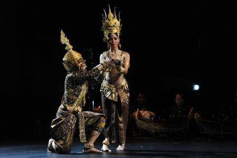 Ballet Royal du Cambodge allo Sporting d'Eté - Montecarlo, 2013