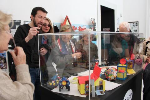 Magica Disney. 3000 volte Topolino - veduta della mostra presso il PAN, Napoli 2013