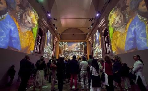 Peter Greenaway, Le nozze di Cana, installazione alla Fondazione Cini, Venezia