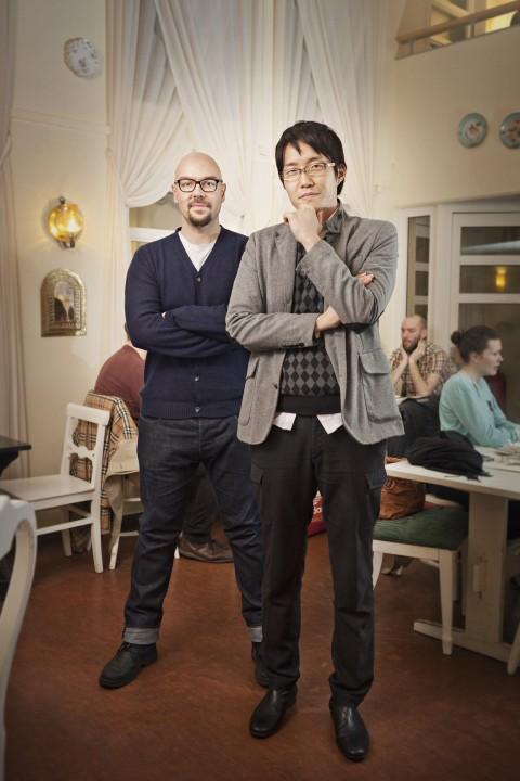 Luca Nichetto e Oki Sato - photo Alexander Lagergren
