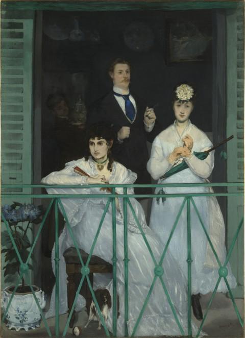 Édouard Manet, Le balcon, 1868-69 - Parigi, Musée d'Orsay - photo © RMN (Musée d'Orsay) / Hervé Lewandowski