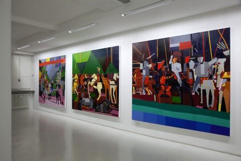 Guy Yanai, Battle of San Romano 1, 2, 3, 2012 - Courtesy Velan Centro d'Arte Contemporanea, Torino
