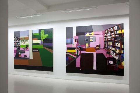 Guy Yanai, Living Room From The outside, 2012 / Therapy, 2012 - Courtesy Velan Centro d'Arte Contemporanea, Torino