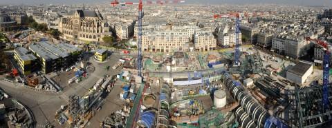 Les Halles nell'ottobre 2012