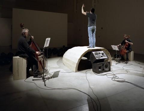 Francesca Grilli, The Conversation, installazione, 2010