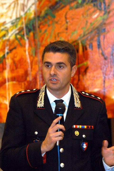 Andrea Ilari, responsabile per la Lombardia del Nucleo per la Tutela del Patrimonio Culturale dei Carabinieri