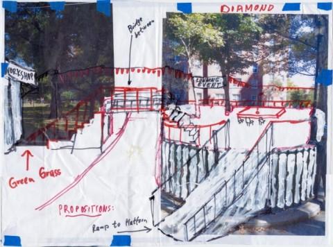 Un disegno progettuale per il Gramsci Monument di Thomas Hirschhorn