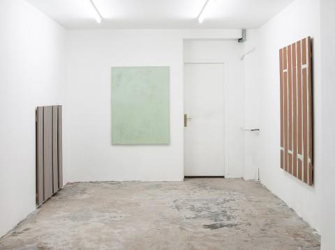 Olve Sande - veduta della mostra presso la Galerie Antoine Levi, Parigi 2013 - Photo Yann Revol