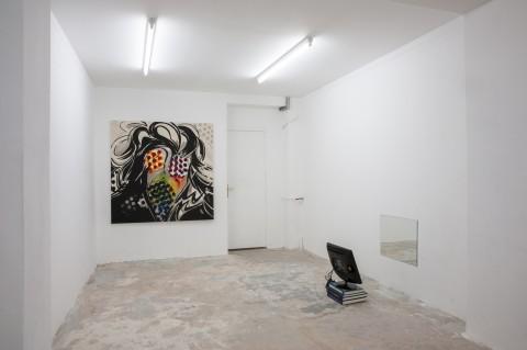 Piotr Makowski - veduta della mostra presso la Galerie Antoine Levi, Parigi 2013 - Photo Yann Revol