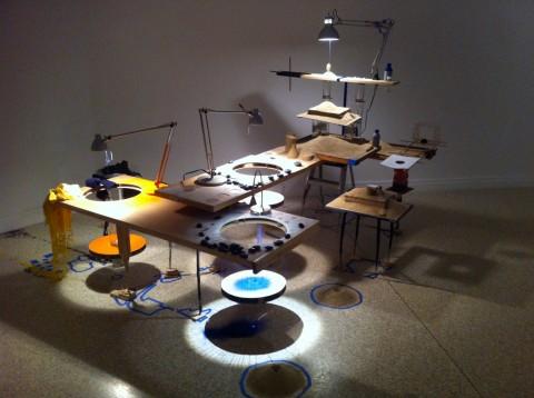 Sarah Sze - Padiglione USA - Biennale di Venezia 2013