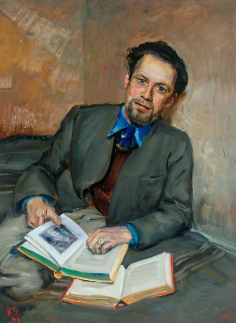 Kurt Schwitters, Untitled (Portrait of Fred Uhlman) - (c) Hatton Gallery; Supplied by The Public Catalogue Foundation