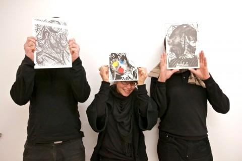 Piotr, Nerina, Antoine - Galerie Antoine Levi, Parigi