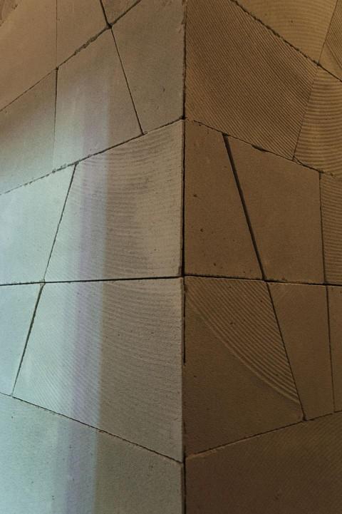 Berger & Berger - Walls - veduta della mostra presso la Fondazione Pastificio Cerere, Roma 2012