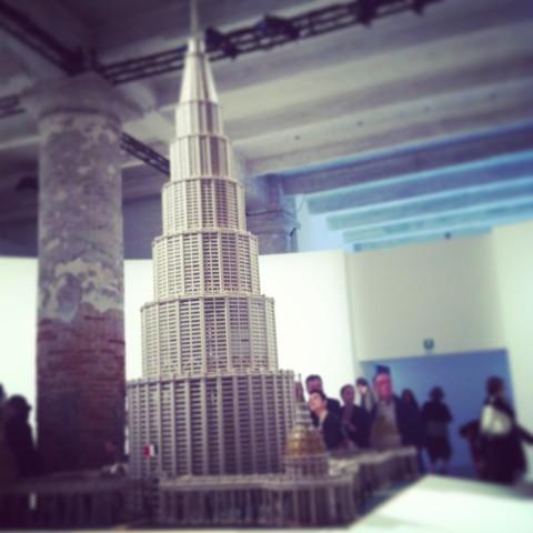 Marino Auriti - Arsenale - Biennale di Venezia 2013