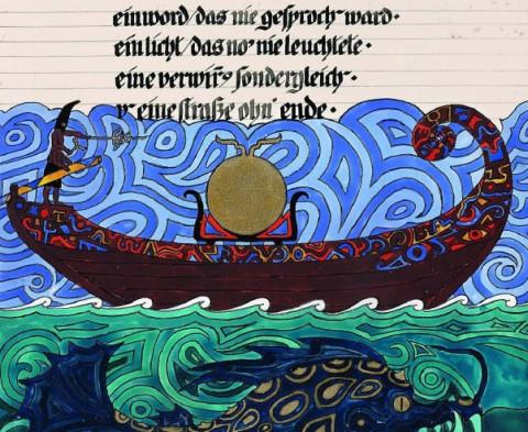 Una immagine tratta dal Libro Rosso di Jung