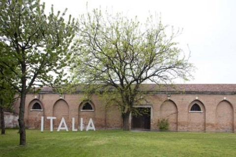 Biennale di Venezia, ingresso del Padiglione Italia