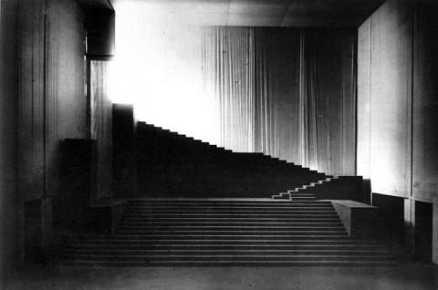 Adolphe Appia, Espaces Rythmics, 1909
