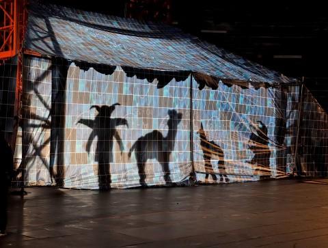 Aida - La Fura dels Baus - photo Tommasoli - Per gentile concessione della Fondazione Arena di Verona