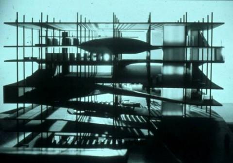 Rem Koolhaas, Progetto per la Biblioteca di Francia, 1989