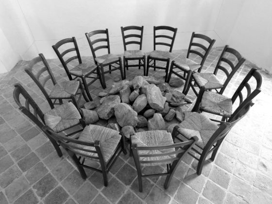 Jannis Kounellis - personale al Convento dei Servi di Maria di Monteciccardo, 2012 - foto Michele Alberto Sereni