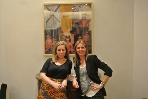 Cristiana Falcone Sorrell e Rachel Libeskind