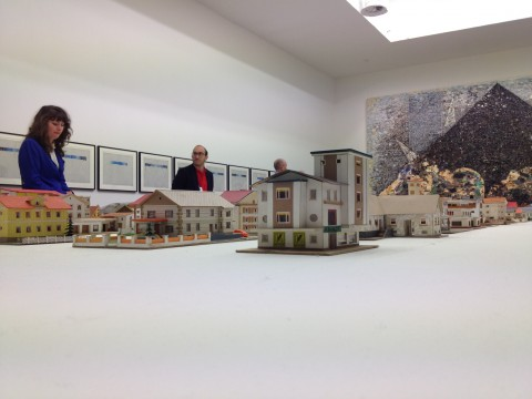 Biennale di Venezia 2013 - Palazzo delle Esposizioni - Oliver Croy & Oliver Elser, The 387 Houses of Peter Fritz (1916–1992), Insurance Clerk from Vienna, 1993–2008