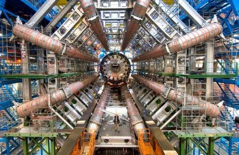 Large Hadron Collider – courtesy Cern