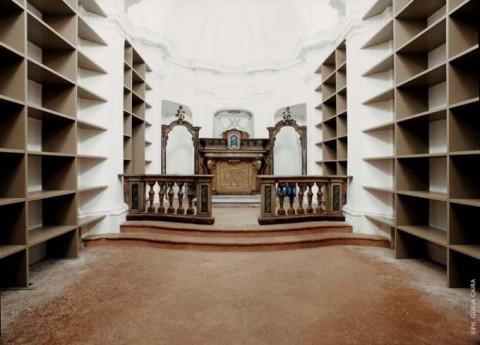 Massimo Bartolini, Laboratorio di Storia e storie, 2002-2007 - Cappella Anselmetti, quartiere Mirafiori Nord, Torino - Progetto Nuovi Committenti
