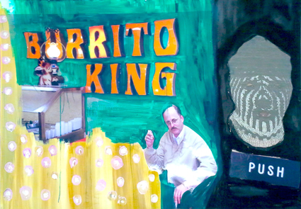 Rachel Libeskind, At the Counter (Burrito King), 2012 - Courtesy Alludo Room, Roma 2013
