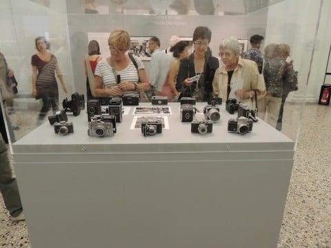 Gianni Berengo Gardin - Storie di un fotografo - veduta della mostra presso Palazzo Reale, Milano 2013