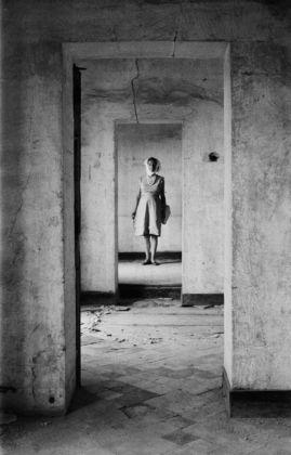 Milton Gendel, Judy Montagu in Vincent van Gogh's Madhouse, Arles, 1964