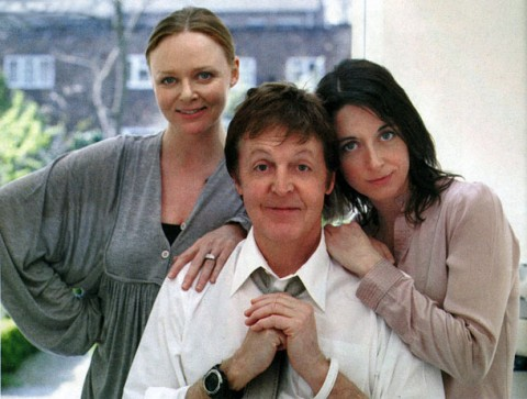 Paul, Stella e Mary McCartney