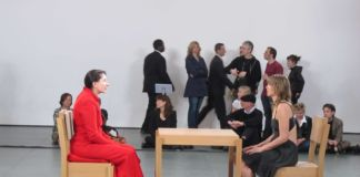 Marina Abramović, The Artist is Present, 2010, The Museum of Modern Art, New York