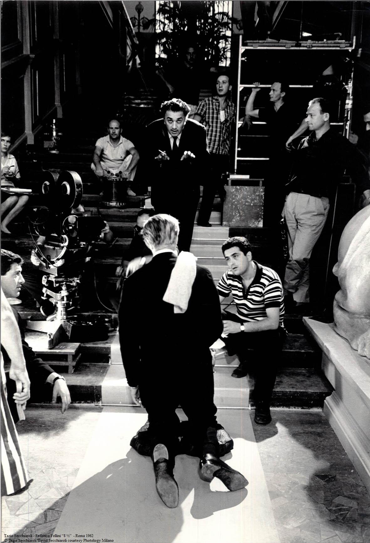 8-e-mezzo-Federico-Fellini-Tazio-Secchiaroli-nerospinto-gallery ...