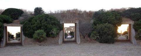 Architects meet in Selinunte 2013 - Il Parco Archeologico di Selinunte visto dall'ingresso del Minissi