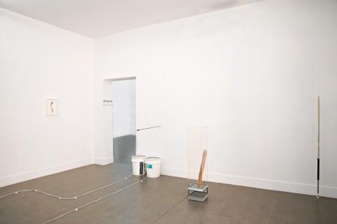 Egan Frantz - Tails - veduta della mostra presso la Brand New Gallery, Milano 2013 - photo Pietro Scapin