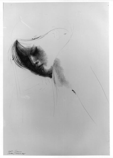 Emilio Greco, Figura femminile, 1968Cavaliere, 1986 - collezione privata, Roma
