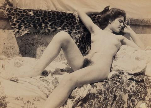 Galdi, Nudo femminile, 1900 c., stampa fotografica, 16,4x22,5