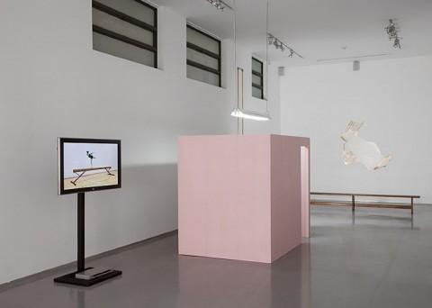 Hilla Ben Ari, veduta della mostra The Left Shoulder, Gallery 39 for Contemporary Art, Tel Aviv 2008