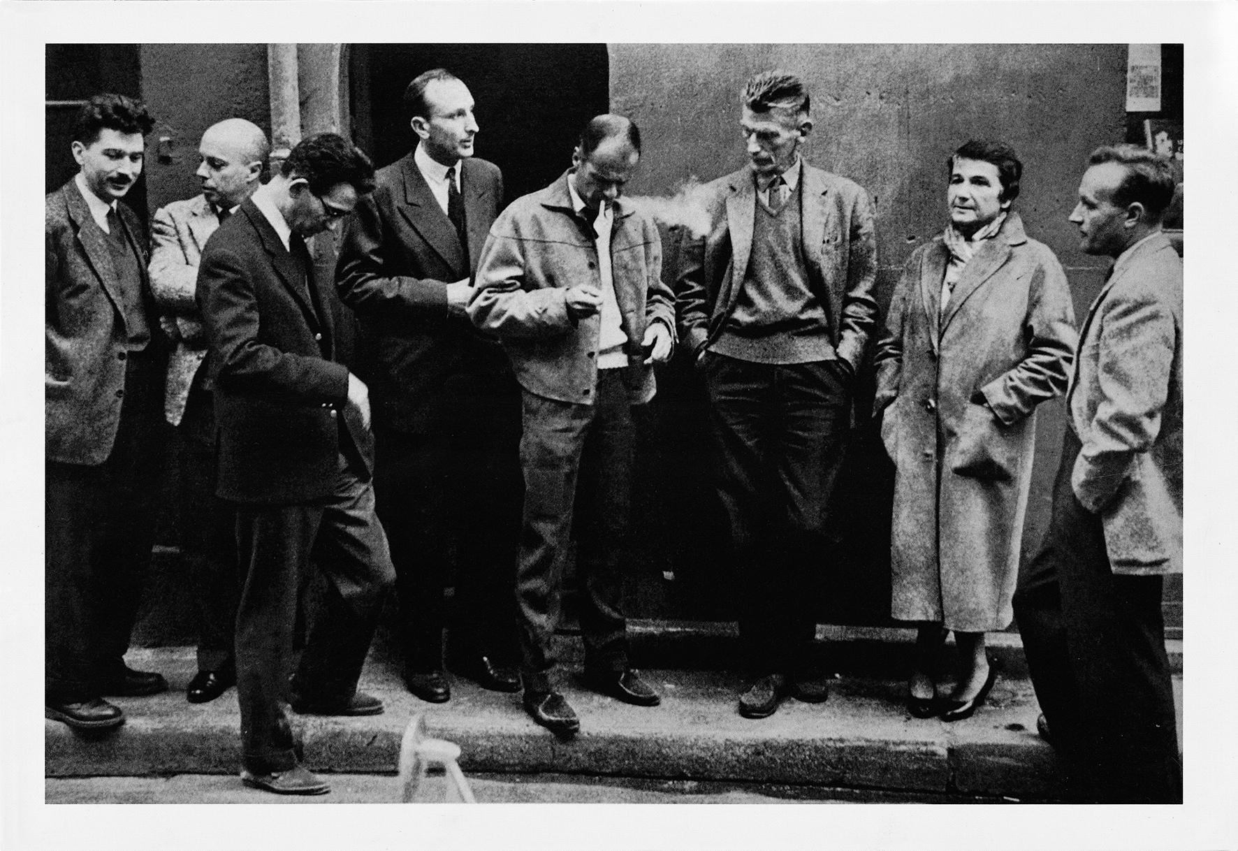 Mario Dondero, Il gruppo degli scrittori del Nouveau Roman 1959