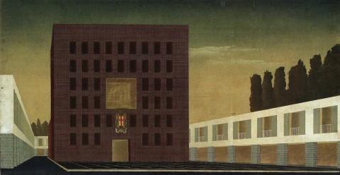 Mart Rovereto – Adalberto Libera (a cura di N. Di Battista) – Progetto per il piano di Aprilia, 1936
