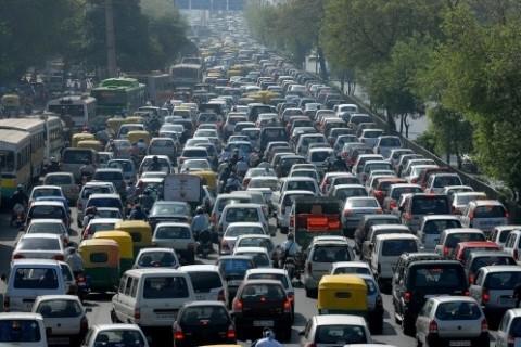 Traffico a Mumbai