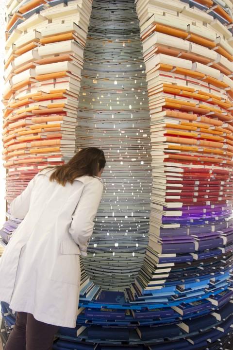 Bookhouse. La forma del libro - veduta della mostra presso il MARCA, Catanzaro 2013 - photo Antonio Renda