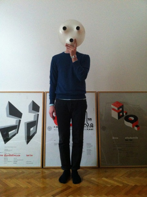Davide Fornari, Ritratto per il progetto Il mio Magistretti - www.vicomagistretti.it